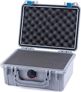 Pelican Silver & Blue Pelican 1150 case with Pluck Foam Set
