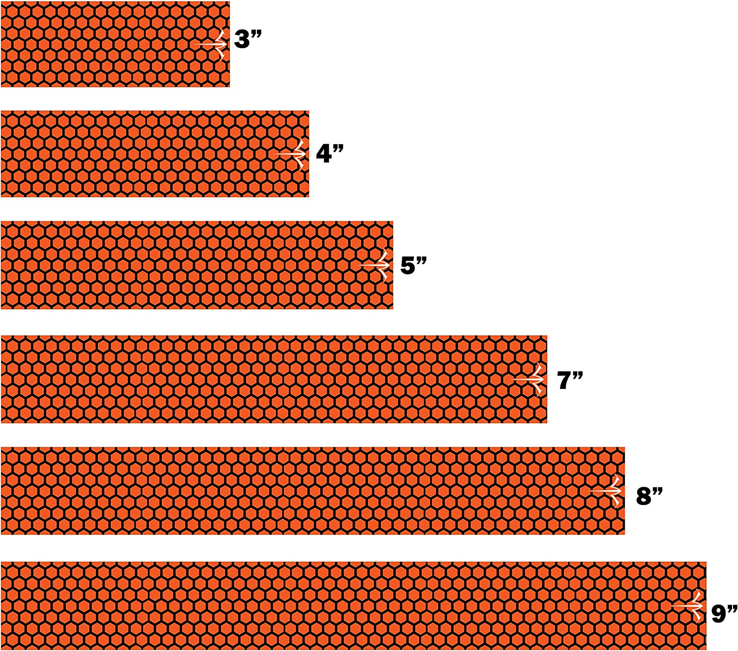 White Water Archery Special Campaign Laminated Orange Honeycomb 15pc Free Shipping Cheap Bargain Gift Arrow Wraps