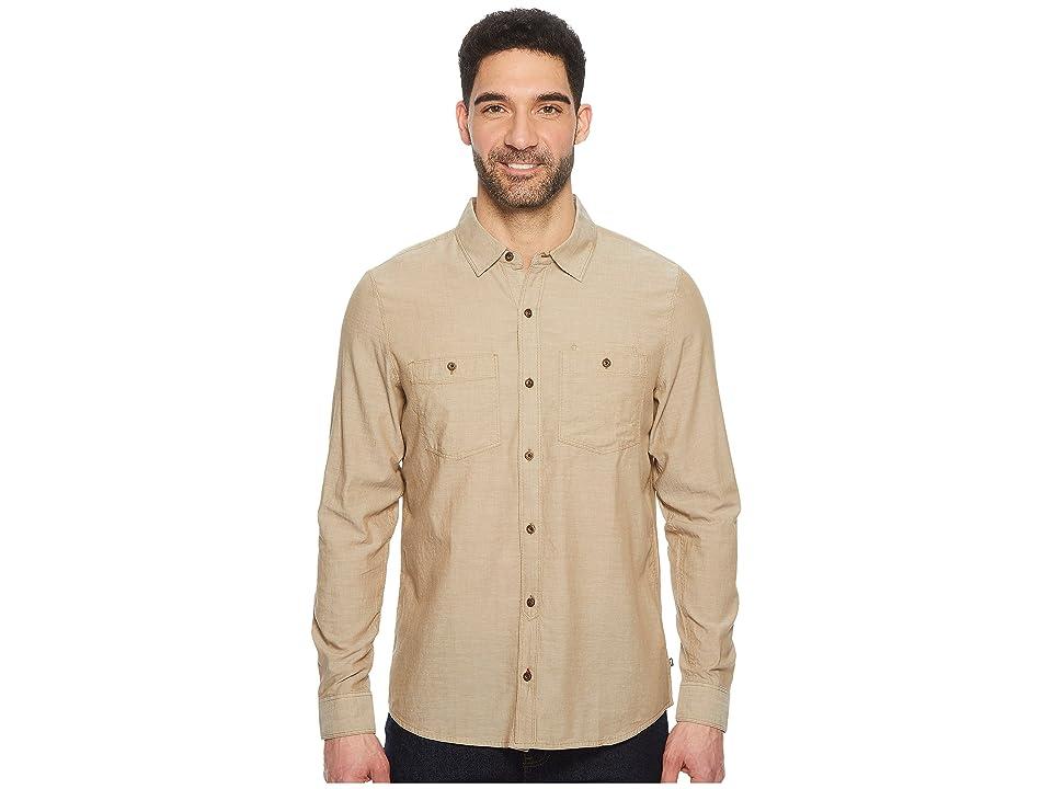 Toad&Co Honcho Dos Long Sleeve Shirt (Seal Brown) Men