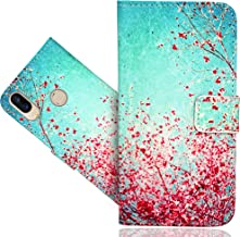 UMIDIGI Power Case, CaseExpert Beautiful Pattern Leather Kickstand Flip Wallet Bag Case Cover for UMIDIGI Power Color 3 2019005-20Hd-Q0593