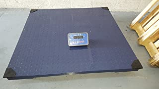 2,000 LBS x 0.5 LB Optima Scale NTEP (LEGAL FOR TRADE) OP-916-4x4 Floor Scale, Pallet Scale, Platform Scale, Industrial Scale, 4' x 4' NEW !!