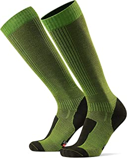 DANISH ENDURANCE Knähöga strumpor i merinoull för utomhusbruk (vandring), knähöga, vandring, promenad, multifunktioella fö...