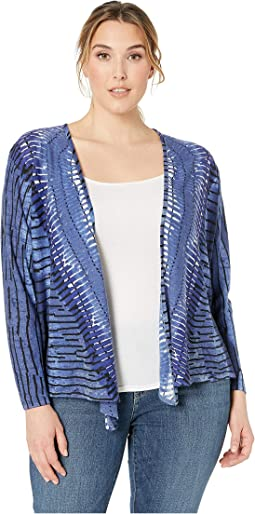 Plus Size New Leaf Four-Way Cardy