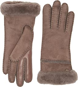 UGG - Exposed Waterproof Sheepskin Tech Gloves with Slim Pile