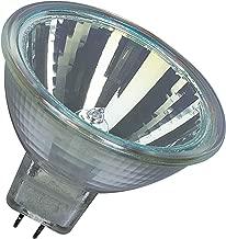 Osram 44860WFL Lot de 10 ampoules halogènes Decostar 51s 12 V 20 W avec culot GU 5,3 36, réflecteur dichroïque et disque de recouvrement Ø 51 mm