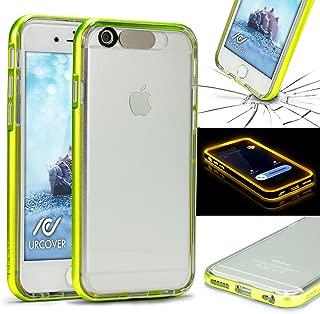 Funda de Luces iPhone 6 Plus / 6s Plus , URCOVER Carcasa Transparente Flash Case Apple iPhone 6 Plus / 6s Plus Brillante llamada de Espera Luminosa LED Titillante