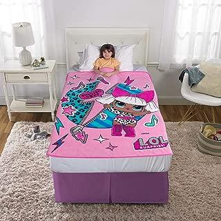 "Franco Kids Bedding Super Soft Plush Microfiber Throw, 46"" x 60"", LOL Surprise"