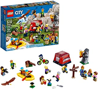 LEGO City People Pack – Outdoors Adventures 60202 Building Kit (164 Pieces) (Discontinued by Manufacturer)