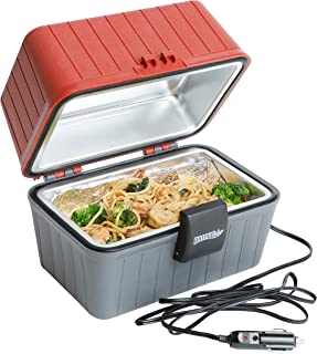 Portable Food Warmer 12 Volt - with Built in LED Light and Limited 12 Month Warranty