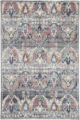 Brand Ventures Lyndhurst Transitional Muted Multi Rug, 230 cm Length x 160 cm Width