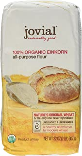Jovial Foods Organic Einkorn Flour, 32.0-Ounce Pack of 4