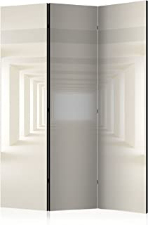 murando Biombo 3D Optica 135x172 cm de Impresion Bilateral en el Lienzo de TNT de Calidad Decoracion Foto Biombo de Madera con Imagen Impresa Separador Grande Home Office Beige a-A-0124-z-b