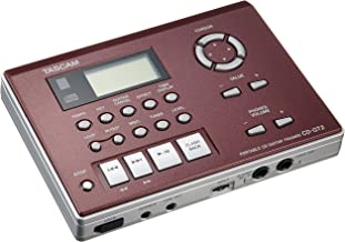 Tascam Tascam Guitar Trainer and Portable CD Player, 1/2 Speed Playback without Changing Pitch, Built-in FX, Built-in Tuner
