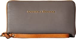 City Large Zip Around Wristlet