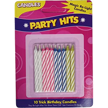 Kole Imports Relighting Birthday Candles PA015