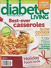 Better Homes and Gardens Diabetic Living Magazine Winter 2012 (Best-ever casseroles)