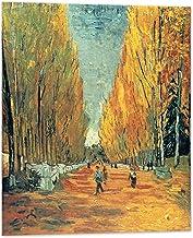 Kuader Alyscamps Vincent Van Gogh -100 x 80 cm