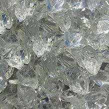 Blue Ridge Brand&Trade; Crystal Fire Glass - 3-Ounce Sample Professional Grade Fire Pit Glass - 1/2