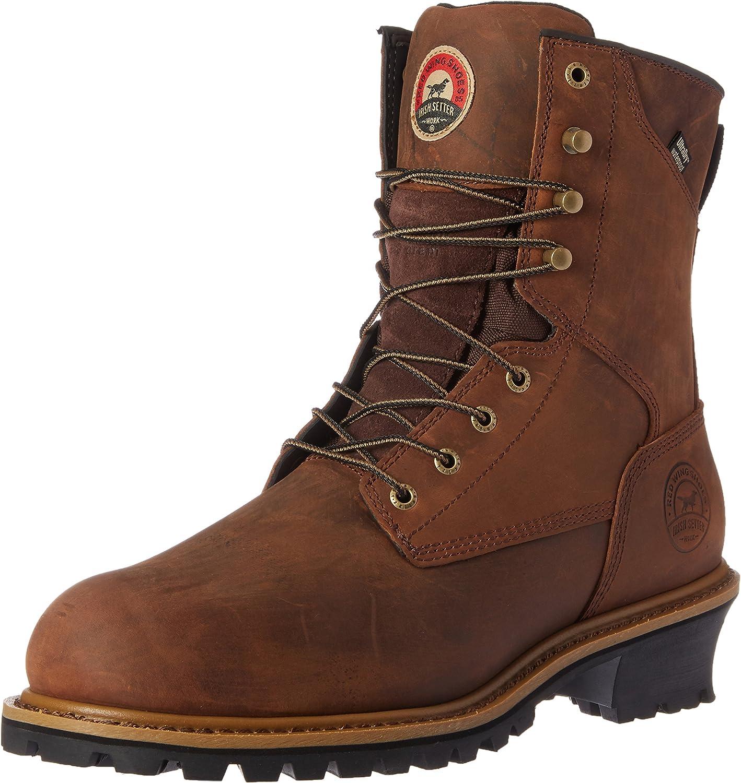 Irish Setter Work herrar herrar herrar Mesabi Steel Toe 83838 Boot  officiell kvalitet