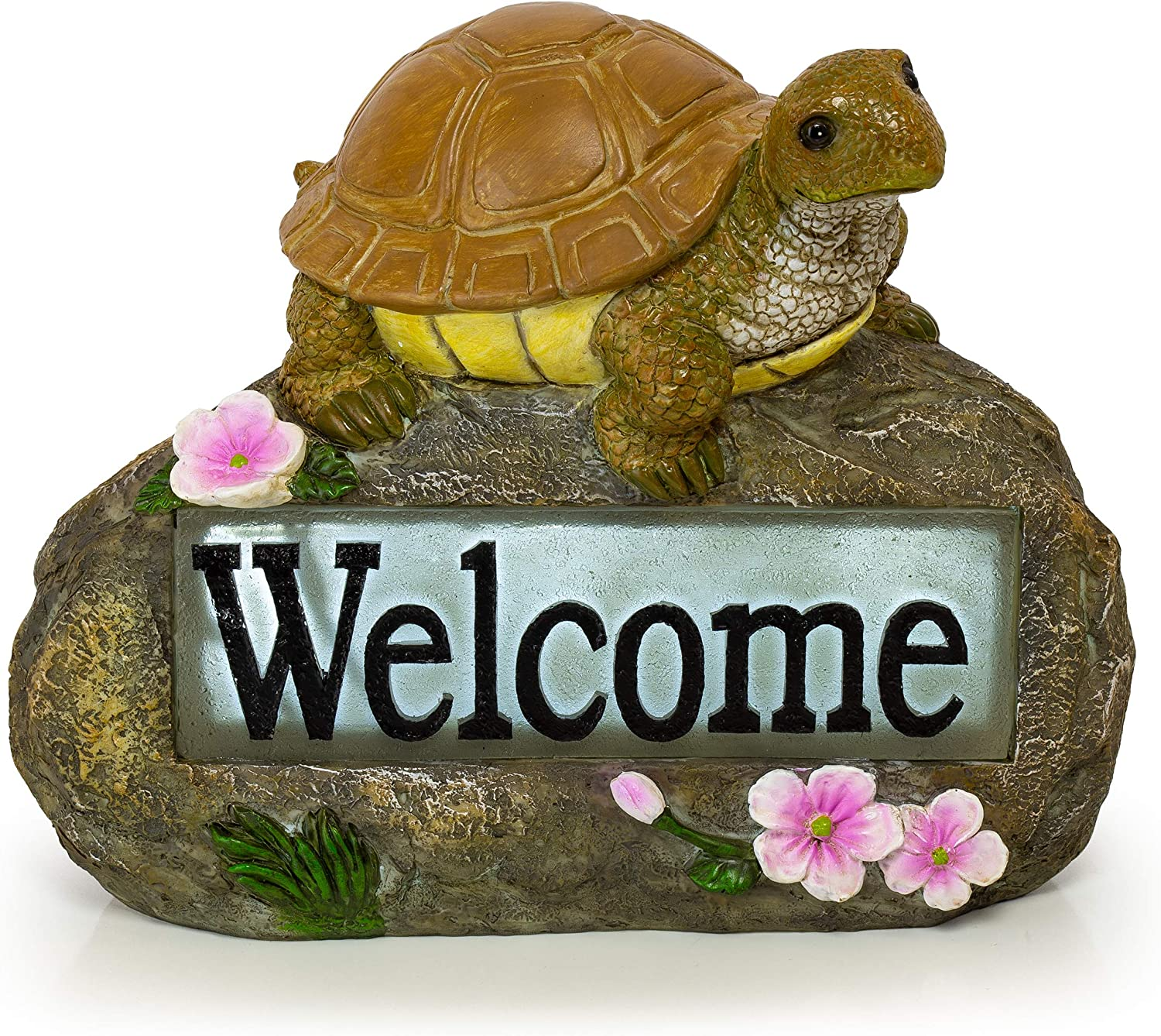 Welcome Turtle Solar Powered Branded goods LED Outdoor Garden Light Low price Decor
