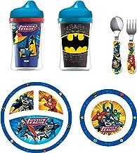 NUK Toddler Feeding Set, Justice League & Batman