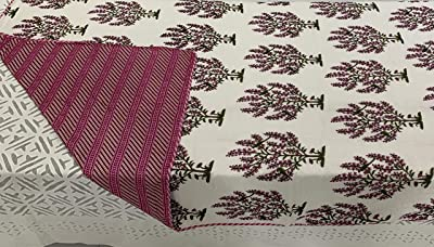 Jaipuri DOHAR-Muslin Cotton-MAL MAL-A Pair of TWO-63X90 INCH (Multicolour)