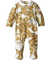 Versace Kids - All Over Print Footie Heritage (Infant)