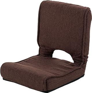 武田コーポレーション/座椅子【低反発コンパクト座椅子】ブラウン(TRK-TC2BR)