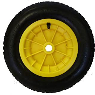 ORANGE LY Tools LARGE 110 LITRE WITH 14 PUNCTURE PROOF WHEEL