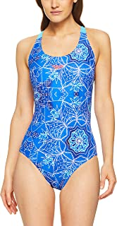 Speedo Women's LEADERBCK ONE Piece, Marrakech Blues/Tqise