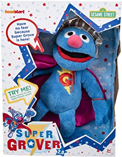Sesame Street 78448 Super Grover Talking Plush Plush