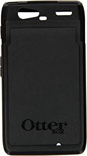 OtterBox Commuter Series Phone Case - Mobile Case for Motorola DROID RAZR Smartphone - Max Protection Android Cellphone Case with Silicone Ports/Jacks Cover, Clear Screen Protector - 77-19139 (Black)