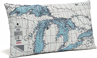 Best pillow map great lakes Reviews