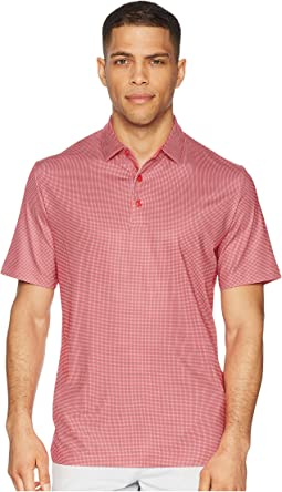 All Over Gingham Printed Polo