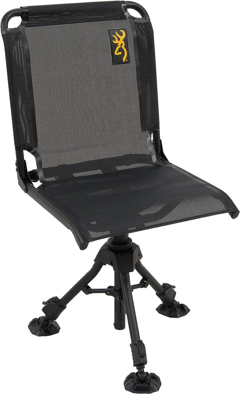 Browning Camping Max 62% shopping OFF Huntsman Chair Black