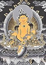 The Tibetan Buddhist God of Wealth - Kubera - Tibetan Thangka Painting