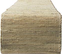 "Chardin Home Eco-Friendly Natural Jute/Hemp Table Runner, Size: 13""x72"""