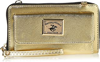 Beverly Hills Polo Club Clutch For Women - Gold