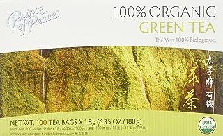 Prince of Peace Organic Green Tea 100 Tea Bags