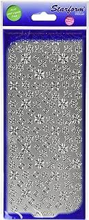 Elizabeth Craft Designs Snowflakes Small Peel Off Stickers 4
