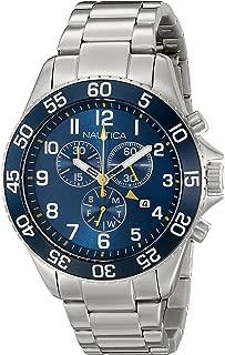 Nautica Men's NAD17508G NST 19 Analog Display Japanese Quartz Blue Watch