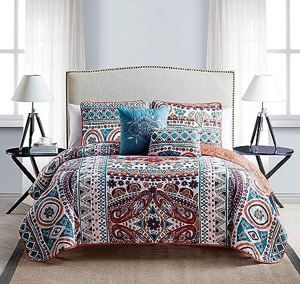 featured product VCNY 5 Piece Natasha Quilt Set,  Full/Queen,  Multicolor