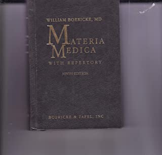 Materia Medica With Repertory 9TH Edition