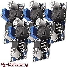 AZDelivery 5 x LM2596S DC-DC Netzteil Adapter Step down Modul für Arduino mit gratis eBook!