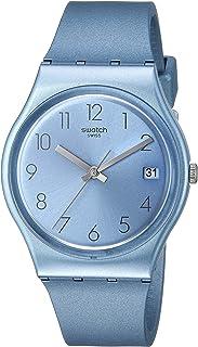 Swatch Worldhood Quartz Silicone Strap, Blue, 16 Casual Watch (Model: GL401)
