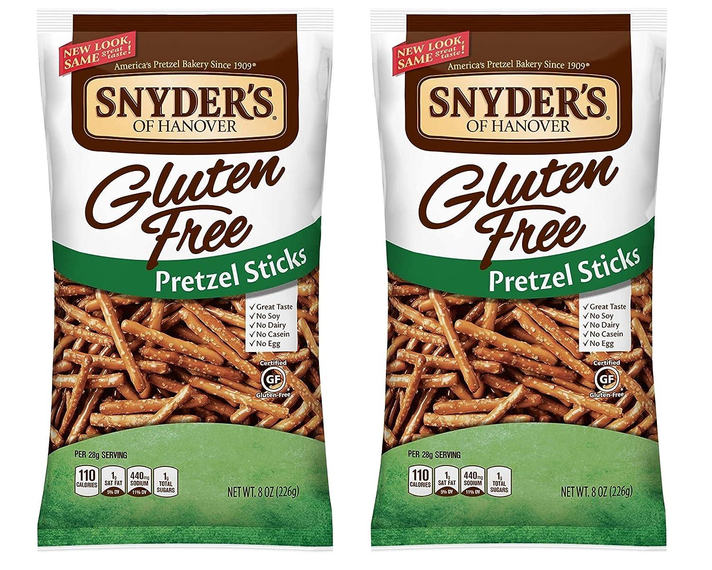Max 74% OFF Snyder's of Hanover All Natural shopping Pack Gluten-Free Sticks Pretzel