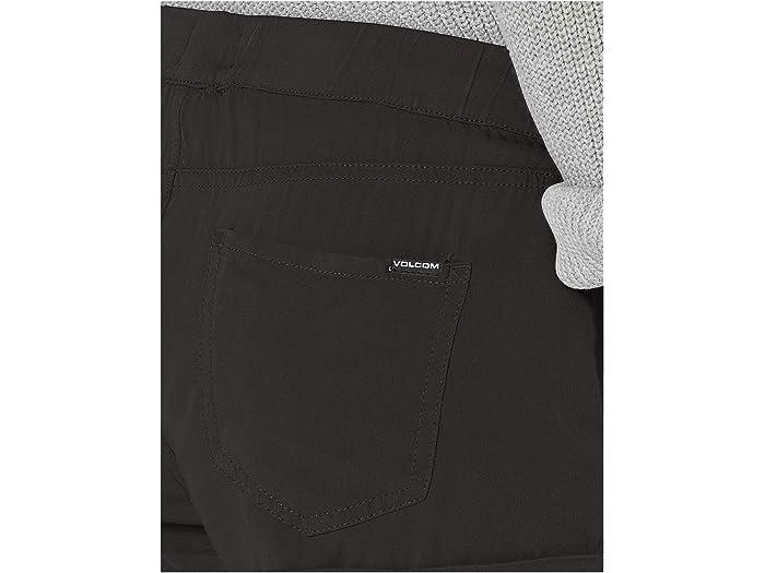 Volcom Sunday Strut Shorts Black Out