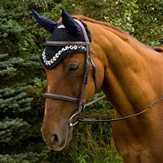 Equine Couture Floral Fly Bonnet