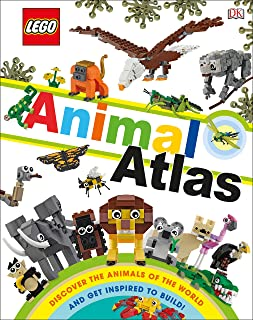 Lego Animal Atlas: Discover the Animals of the World (Library Edition)