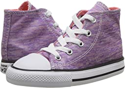 Converse Kids - Chuck Taylor All Star Jersey Knit Hi (Infant/Toddler)